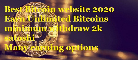 Bitsfree Fully Paying Bitcoin Website | Direct Payment to Bitcoin wallet/faucetpay | Minimum withdraw 2K satoshis