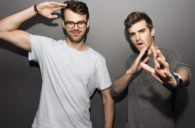band, duo, shaun frank, the chainsmokers, closer, don't let me down, music news, billboard, mtv, vh1