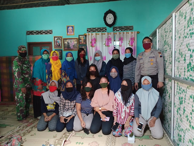 Babinsa Koramil  Wonosari Hadiri Sosialisasi  Kesehatan Reproduksi Remaja