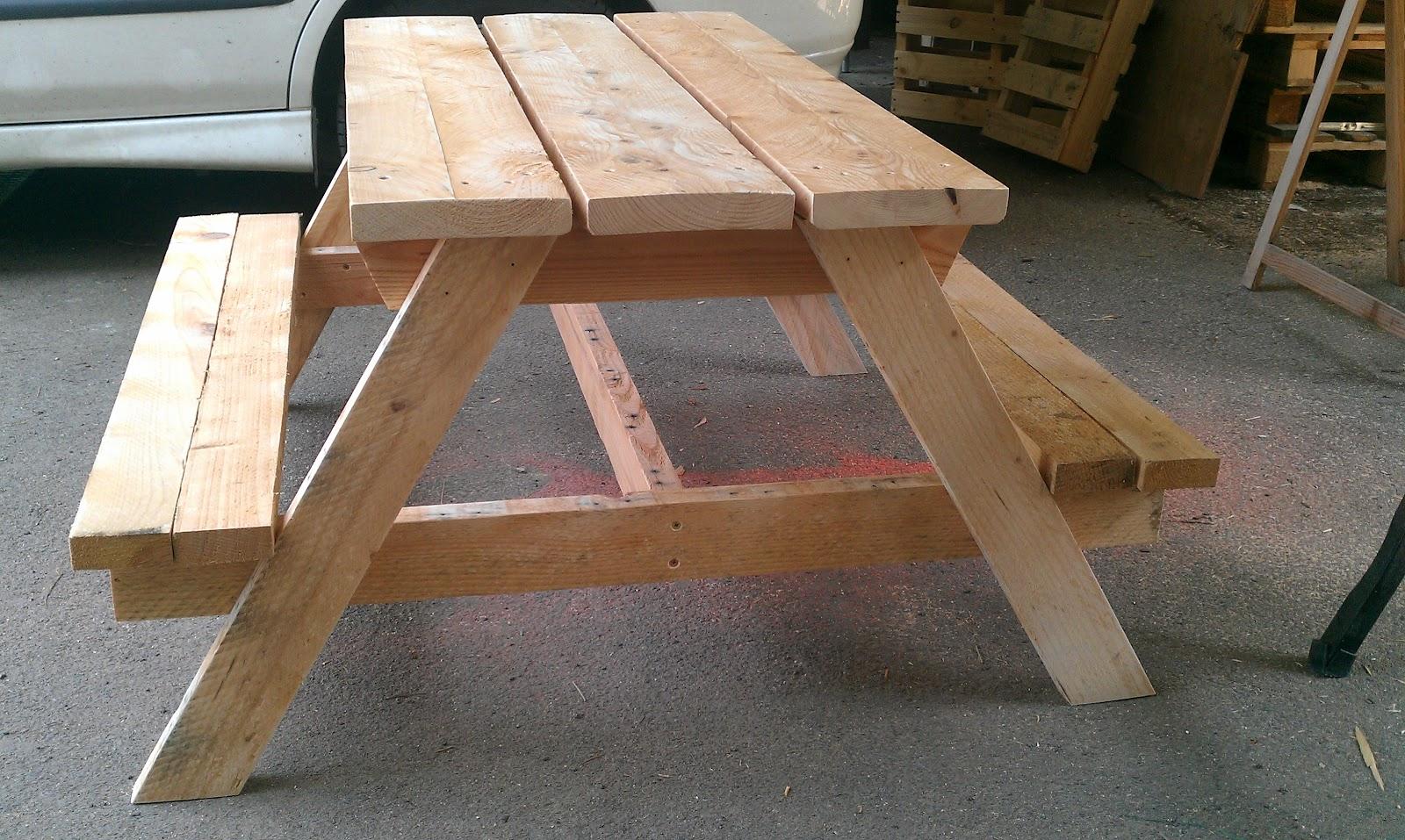 ludo la bricole table de picnic enfants. Black Bedroom Furniture Sets. Home Design Ideas