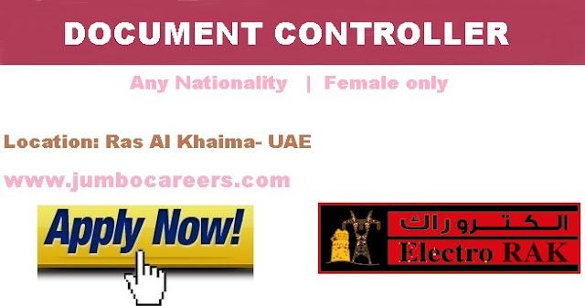 . RAK jobs for females.