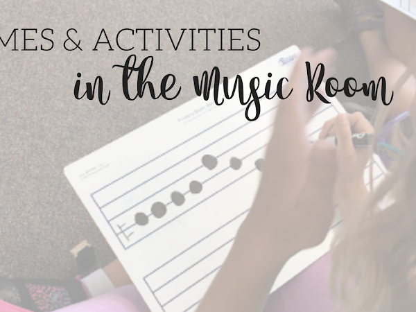 Games and Activites in the Music Room {BTS Blog Hop}