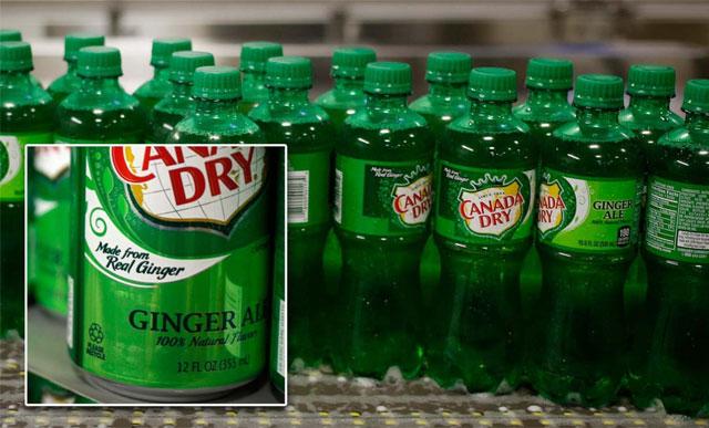 tuntutan kepada Canada Dry Ginger Ale