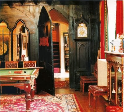Eye For Design Decorating In The Gothic Revival Style