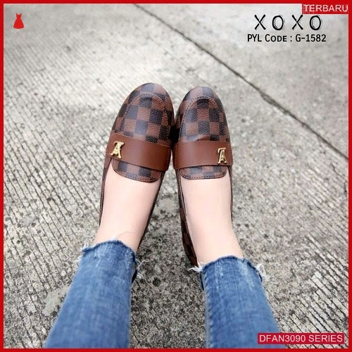 DFAN3090S277 Sepatu Ps08 Flatshoes Sepatu Wanita Flat Murah BMGShop