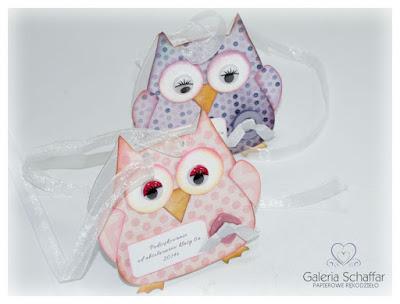 Sizzix Bizg Die Owl wykrojnik Sowa z papieru