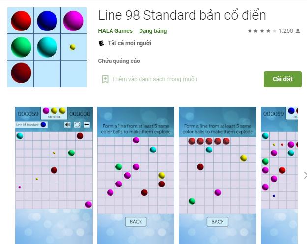 Line 98 online - Chơi game Line 98 màn hình rộng cũ cực hay a