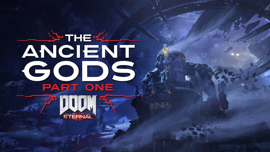 doom eternal ancient gods part 1 tease first story dlc campaign tease id software bethesda pc ps4 stadia xb1