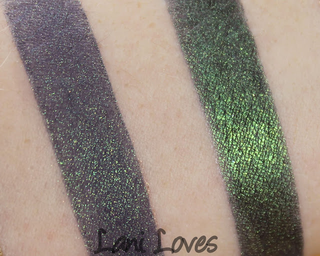 Femme Fatale Friday: The Girl Who Cried Monster Eyeshadow Swatches & Review