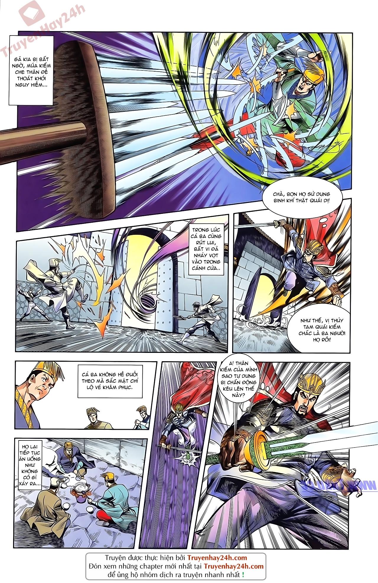 Tần Vương Doanh Chính chapter 48 trang 4