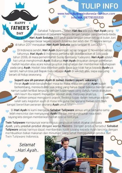Tulip Info, Hari Ayah 2017