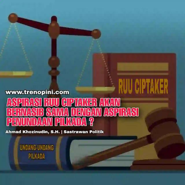 Serikat Pekerja sepakat melakukan aksi mogok kerja nasional sebagai bentuk penolakan terhadap omnibus law RUU Cipta Kerja (Ciptaker). Wakil Ketua DPR Azis Syamsuddin menegaskan aspirasi para buruh sudah ditampung oleh DPR.