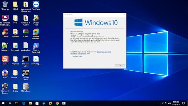 Cập nhật 12 tháng 7, 2017 - KB4025342 cho Windows 10 Phiên bản 1703 (OS Build 15063.483)