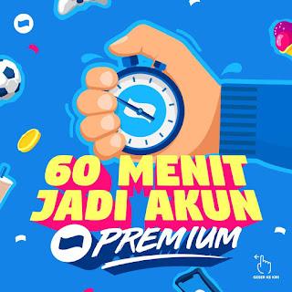 cara upgrade akun DANA Premium