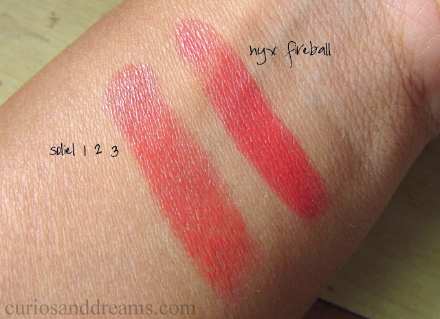 NYX Butter Lipstick review, NYX Butter Lipstick india, NYX Butter Lipstick fireball review