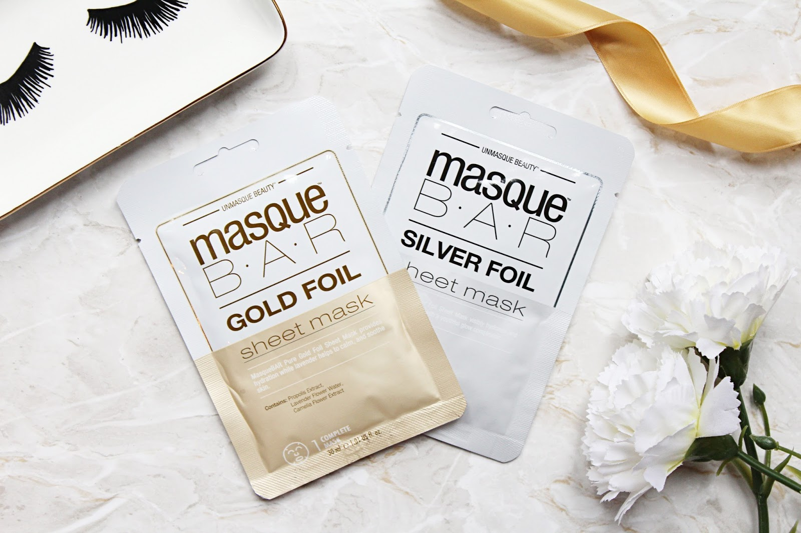 MasqueBAR Foil Sheet Masks