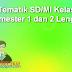 RPP Tematik SD/MI Kelas 1, 2, 3 Semester 1 dan 2 Lengkap