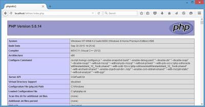 cara install php di iis