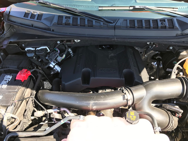 Engine in 2019 Ford F-150 4X4 SuperCrew Limited