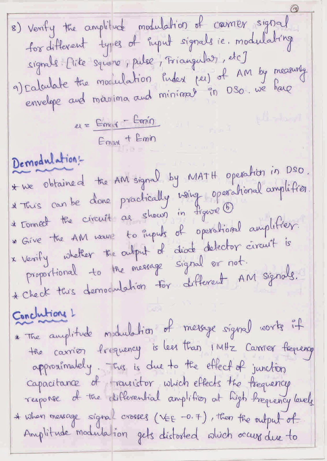 Amplitude DeModulation