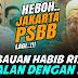 Jakarta PSBB Lagi, Himbauan Habib Rizieq Syihab Sejalan Dengan Anies Baswedan