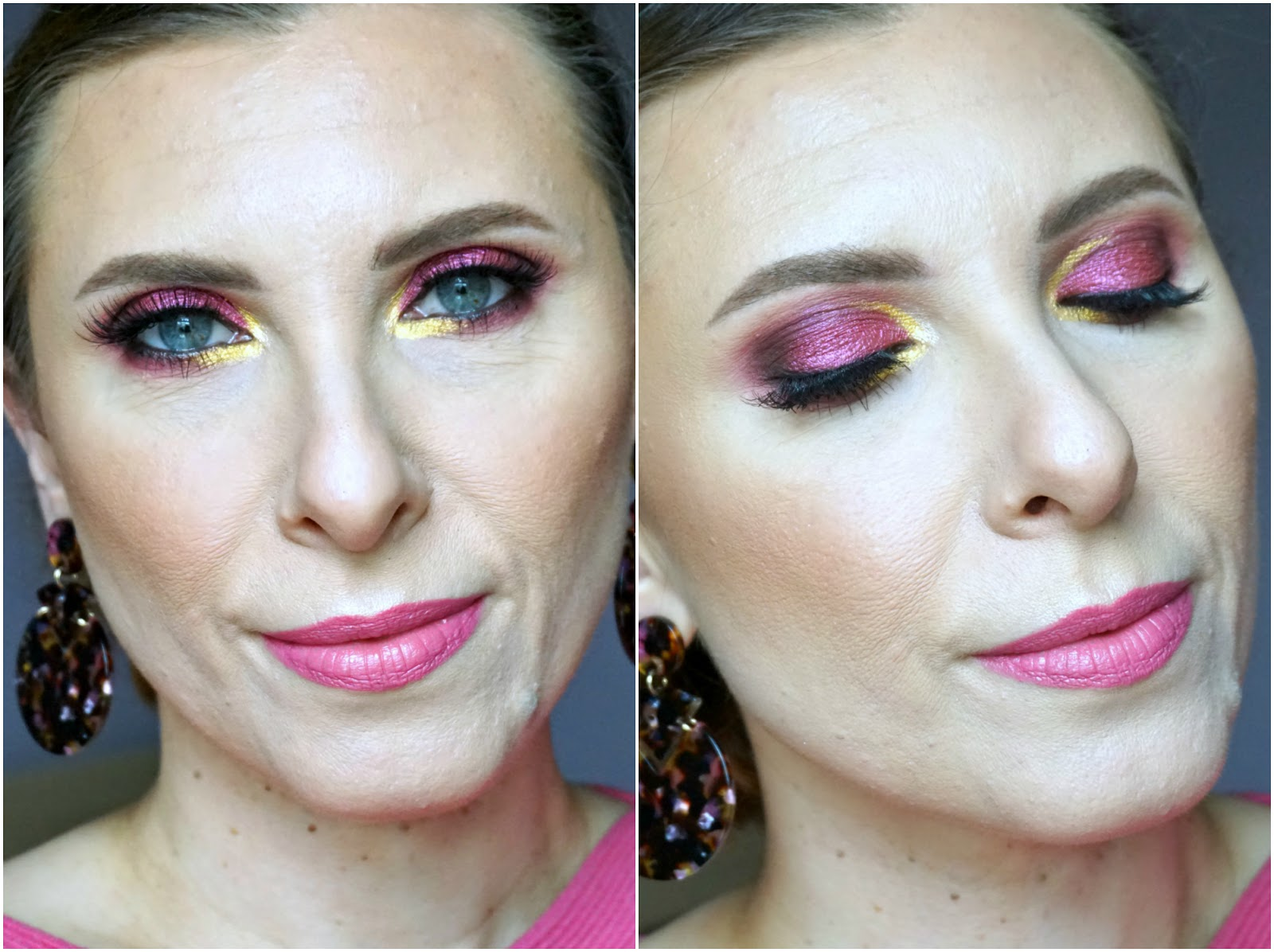 Anastasia Beverly Hills Riviera palette makeup look