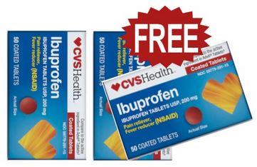 FREE CVS Health Ibuprofen
