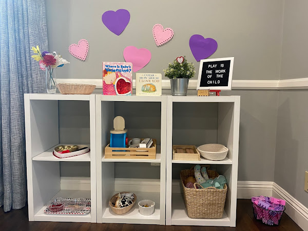 Valentine's Day Shelf