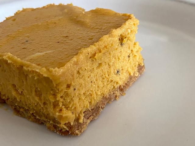 Pumpkin Cheesecake Bars by freshfromthe.com