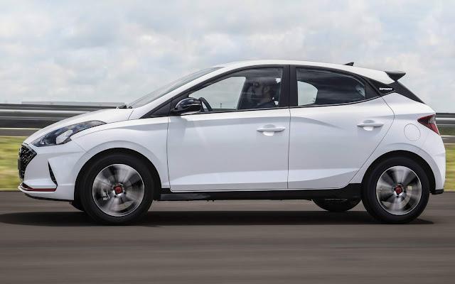 Hyundai HB20 2020 - 2º carro mais vendido do Brasil