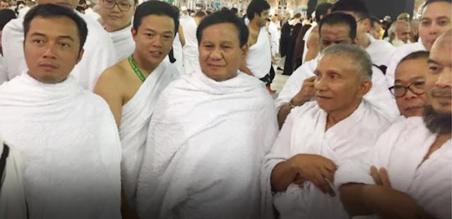 Umroh Amien Dan Prabowo Didoakan Bawa Berkah Kemenangan Di Pilpres 2019