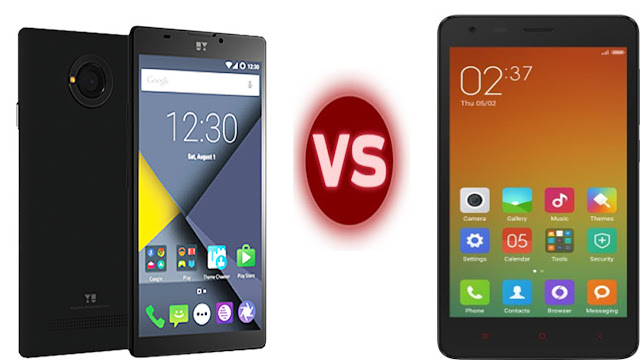 YU YUNIQUE vs Xiaomi Redmi 2 – Comparison