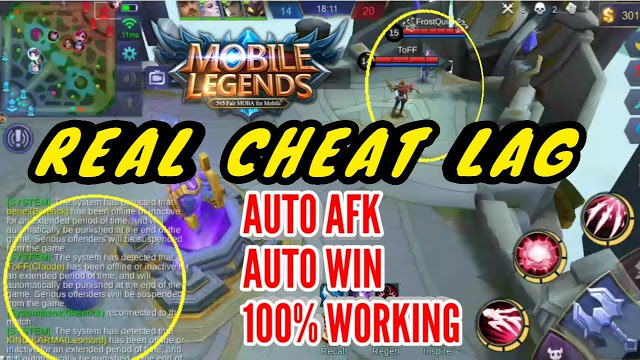 Download Cheat Mobile Legends Lag Hack Edition 23 April 2020 Latest Update and Anti Banned Free.