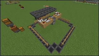 Minecraft 自動花栽培機 全体図