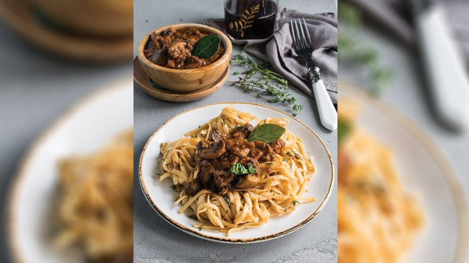 Η συνταγή της ημέρας: Πλούσιο σπαγγέτι με ραγού μανιταριών