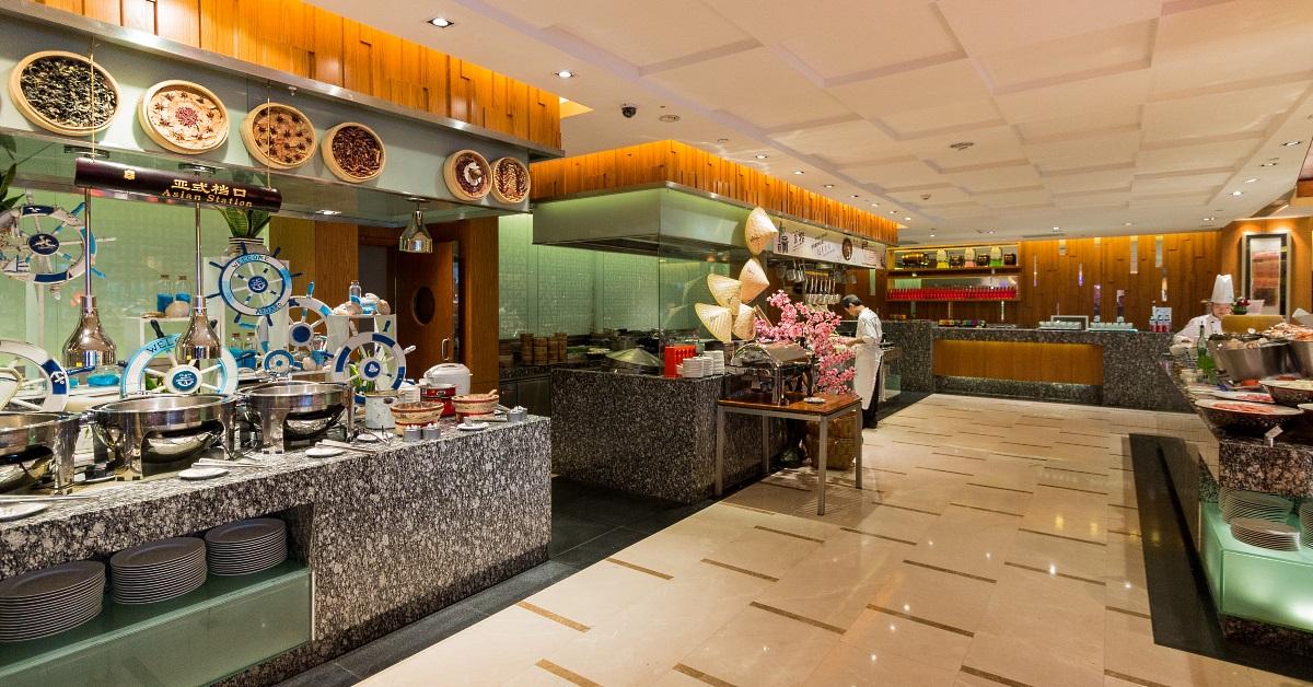 Breakfast Buffet at Shangri-La Hotel Guilin