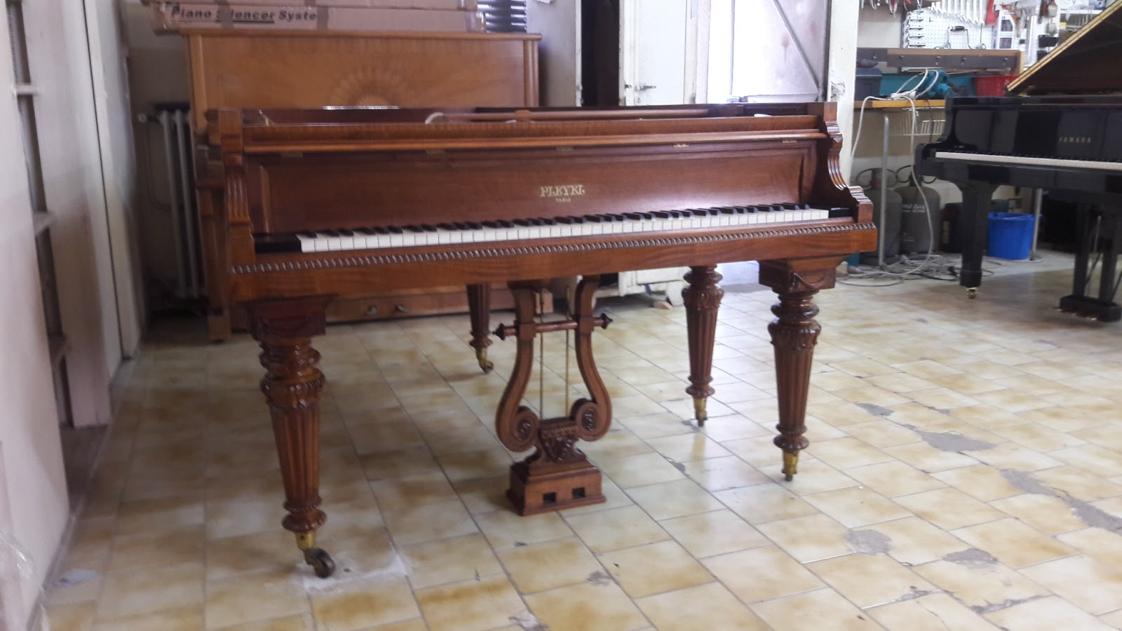 France Pianos Le Blog Du Piano Restauration D Un Superbe Piano