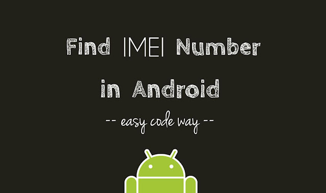 Find IMEI number in Android