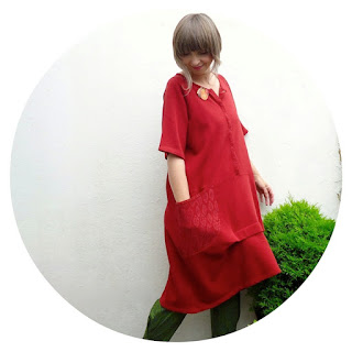 Ghita dress in cotton by Gudrun Sjödén