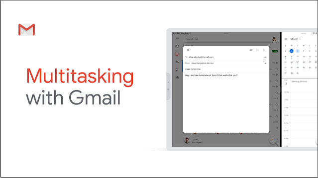 Use Gmail alongside other iOS apps with iPad Multitasking 1