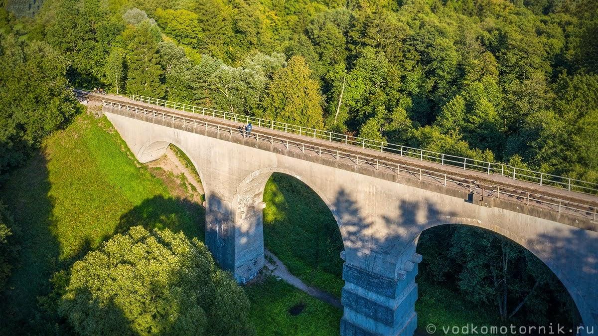 На жд мосту в Токаревке