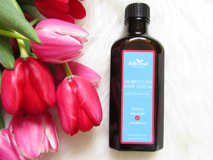 Review: Belle Azul - Moroccan Hair Serum mit Arganöl - 100ml - 13.90 Euro