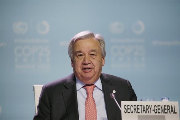 Ο ΓΓ του ΟΗΕ ζητά «τερματισμό των εχθροπραξιών» μεταξύ Τουρκίας και Συρίας