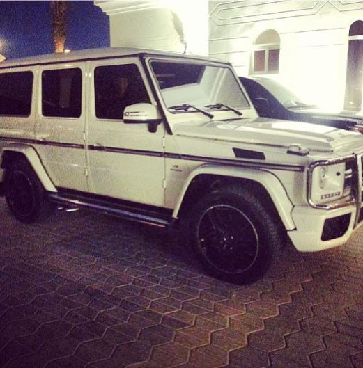 davido mercedes benz car