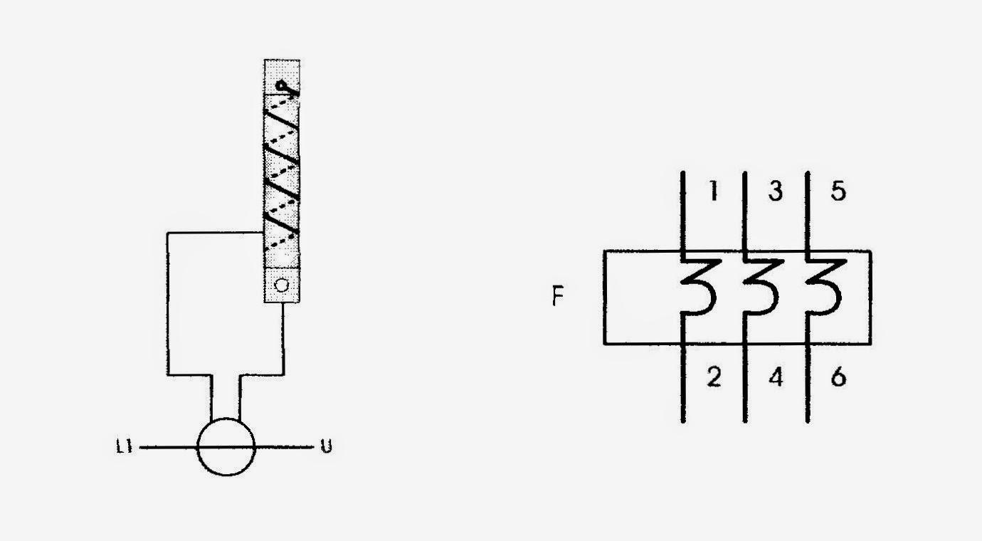Rele termico simbolo