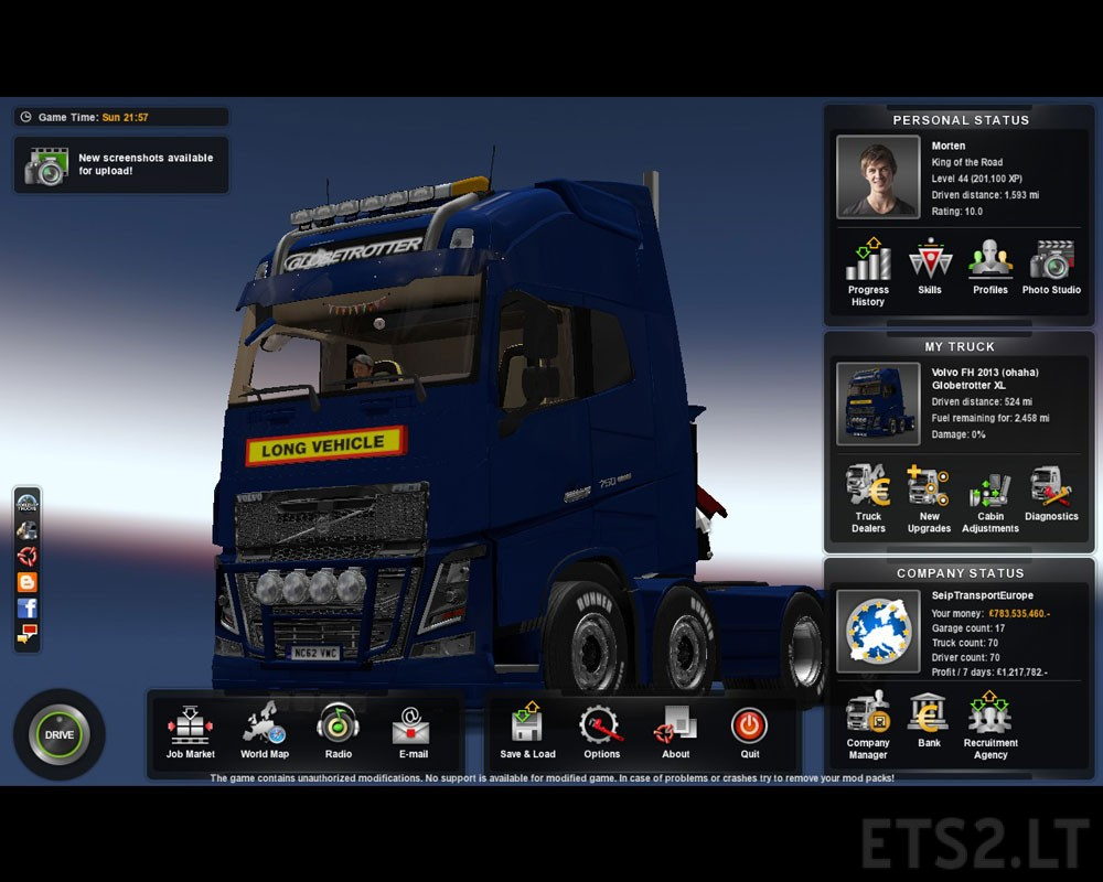 ETS2 - Euro Truck Simulator 2 v1.26 (PC) | Breakdownonfire
