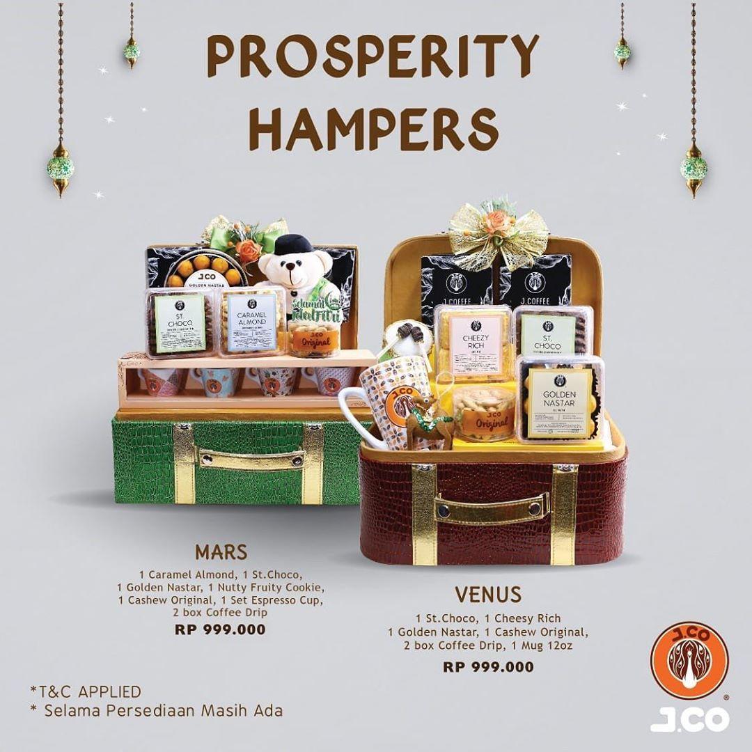 Harga Promo Hampers Prosperty JCO Mei 2020
