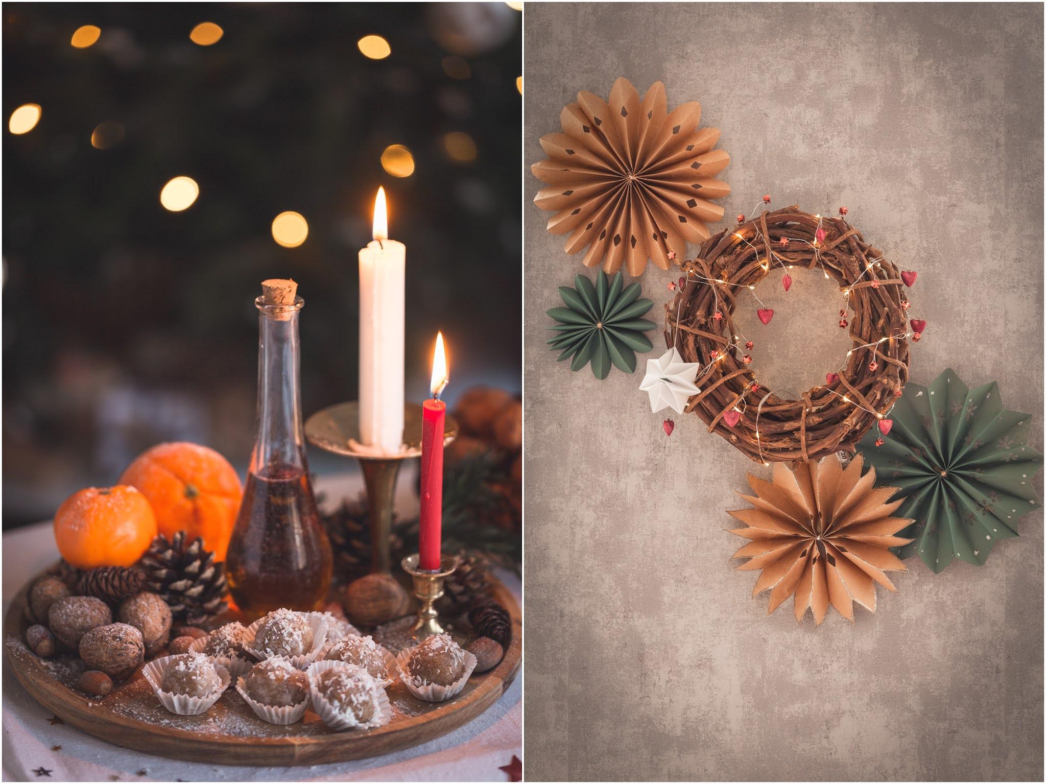 WEEKENDS IN THE KITCHEN: Постни Коледни Сладки без печене (GF& DF)
