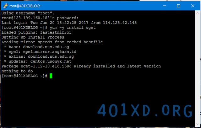 Install Webmin di VPS Centos