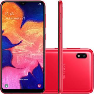 Samsung Galaxy A10 Vermelho